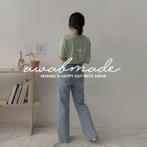 ♥Vice cut wide pants (ver. Secret banding)