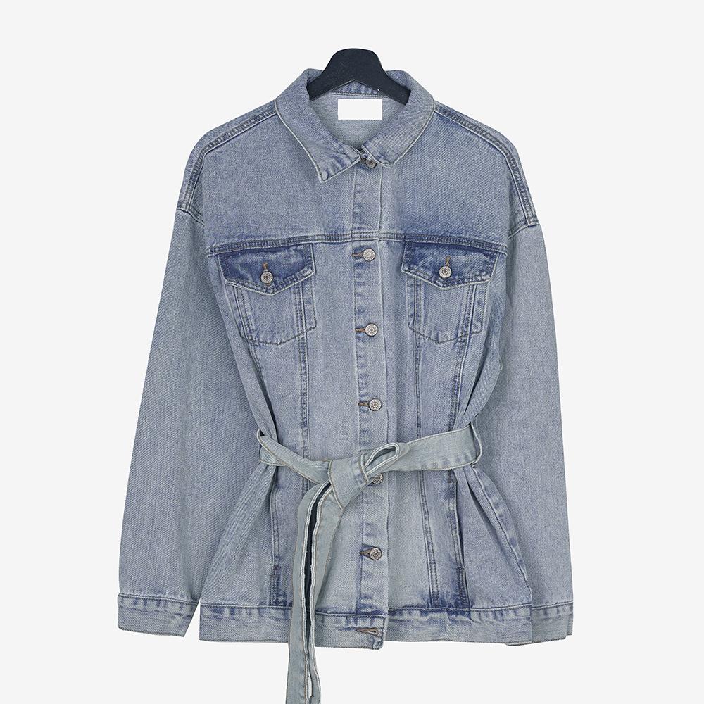 Returns Loose-fit denim jacket