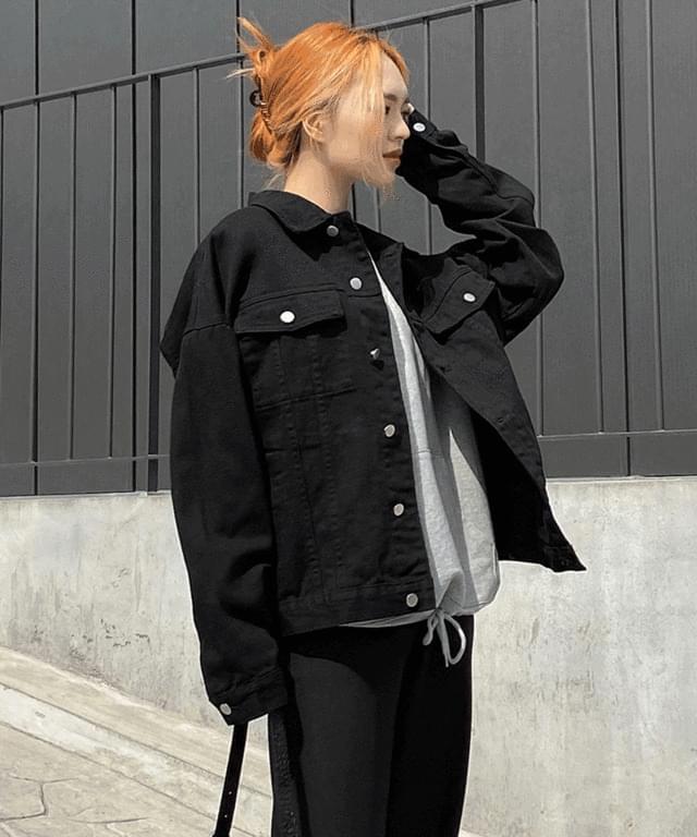 Sinos Boxy-fit Cotton Jacket