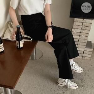 pt3757 Shops Pintuck Wide Cotton Pants
