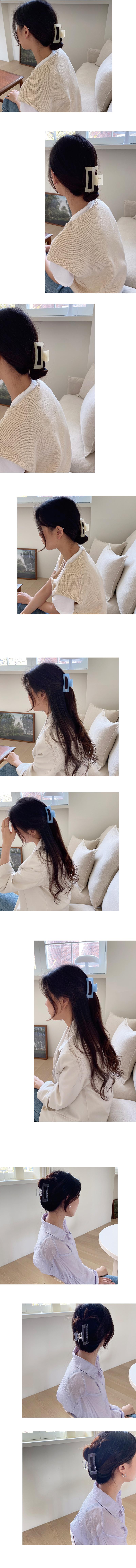 bright hair pin