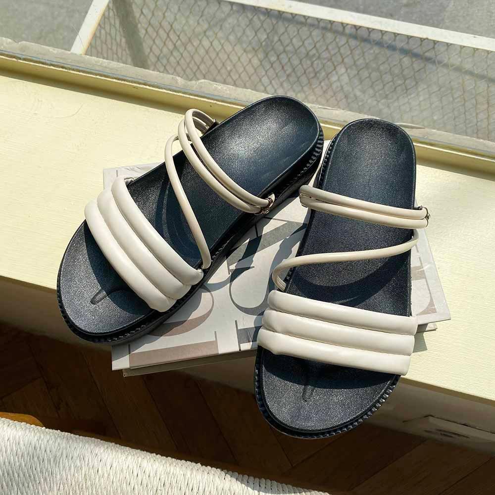 Sticky Cushion Cross Sandals 2cm