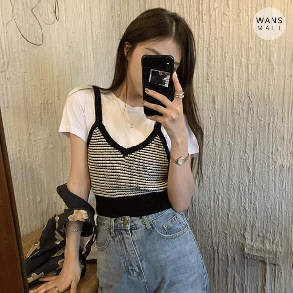 kn4401 Ydy Knitwear Strapless Sleeveless Vest (Delayed delivery)