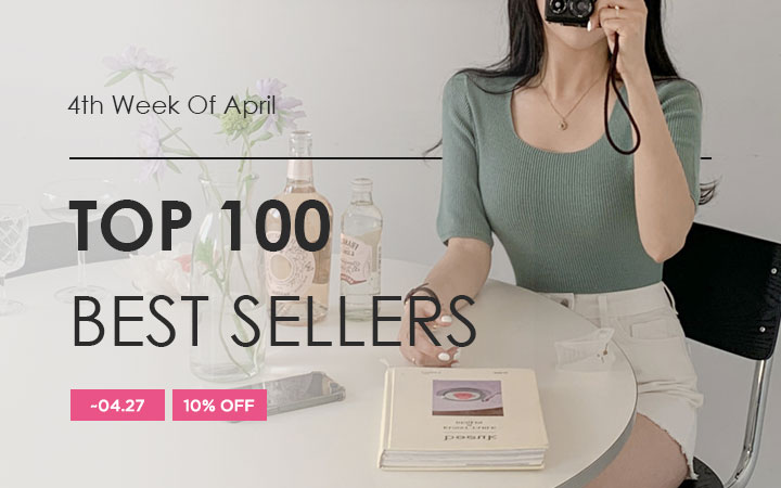 TOP 100 BEST SELLERS - 4th Week Of April