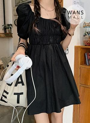 op4360 ruby puff Dress