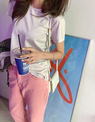 韓國空運 - Hope Silket Short Sleeve T 短袖上衣