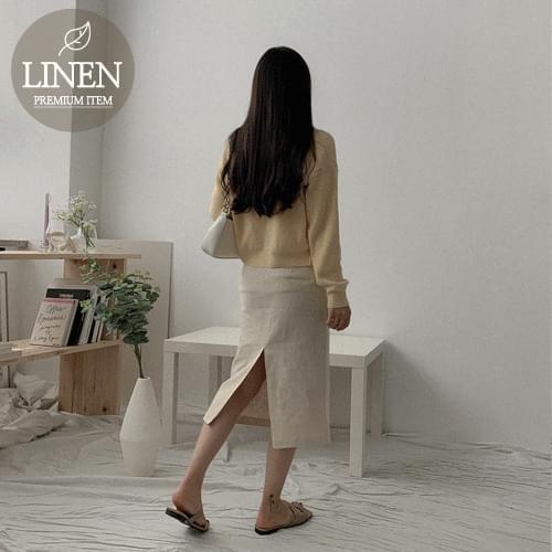 Looney Linen H Long Skirt