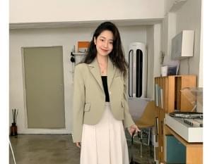 Ren line single short jacket