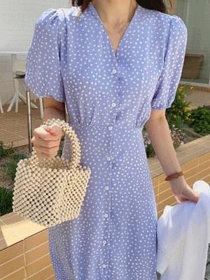 Judd color dot Dress