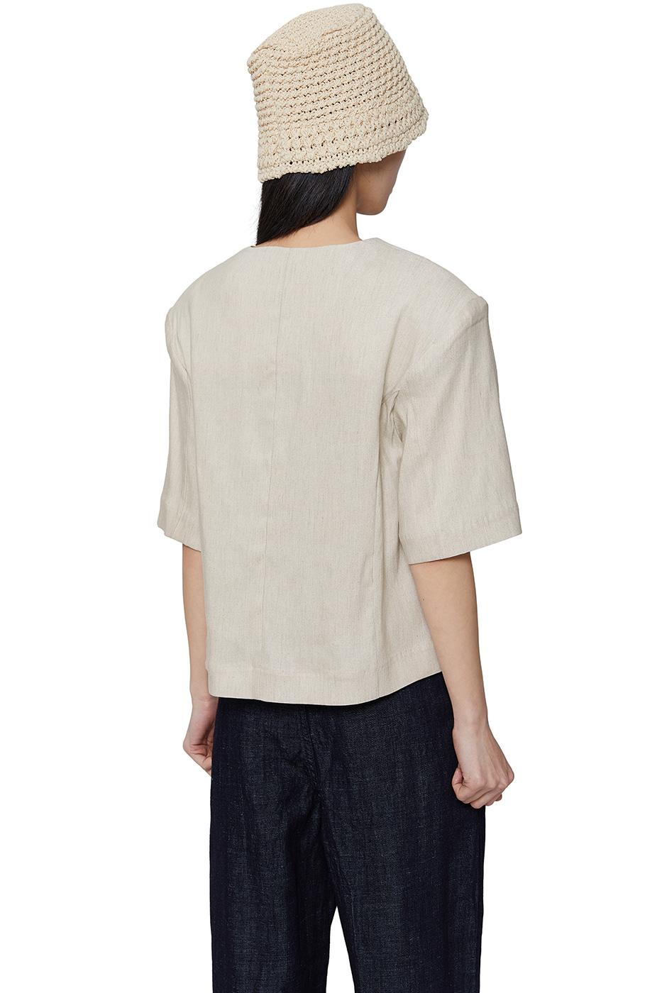 Berlin linen blazer