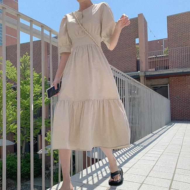 Summer Happiness Linen Long Dress (Delayed delivery)