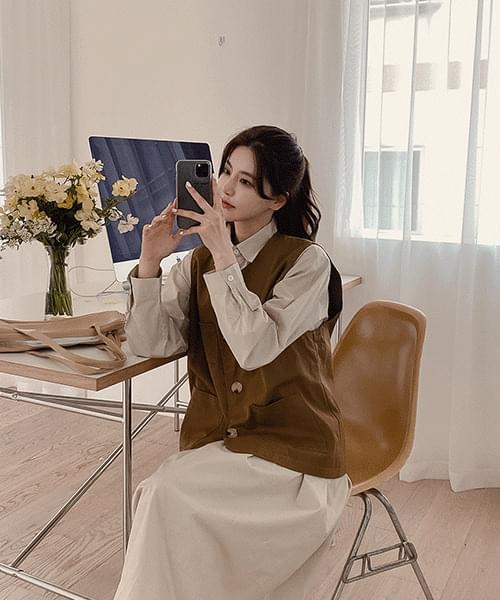 韓國空運 - Sorne V Best-2color 針織外套