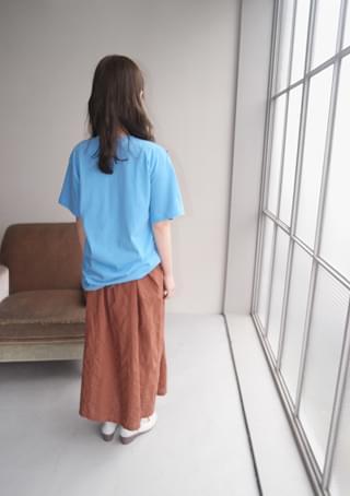 韓國空運 - color boxy half T 短袖上衣