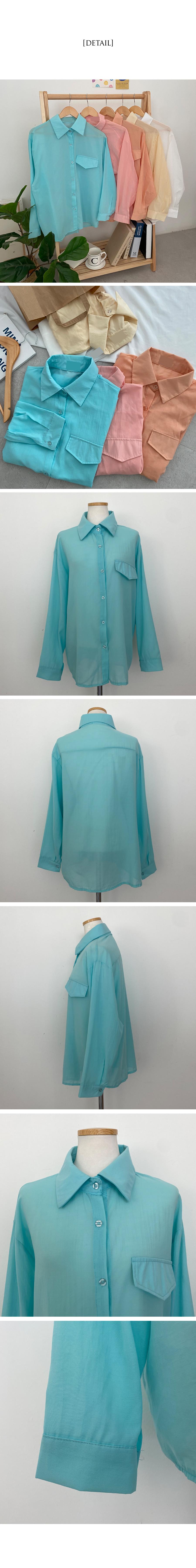 Oasis pocket shirt Shirt wear until summer