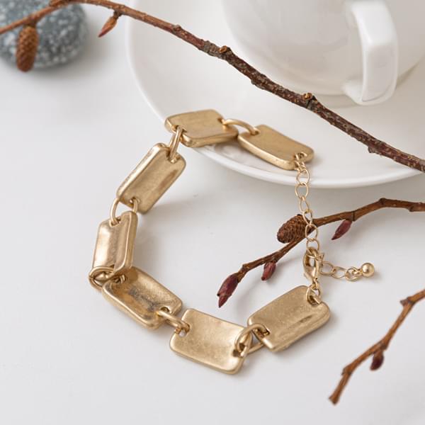 Matte Square Bracelet #86439