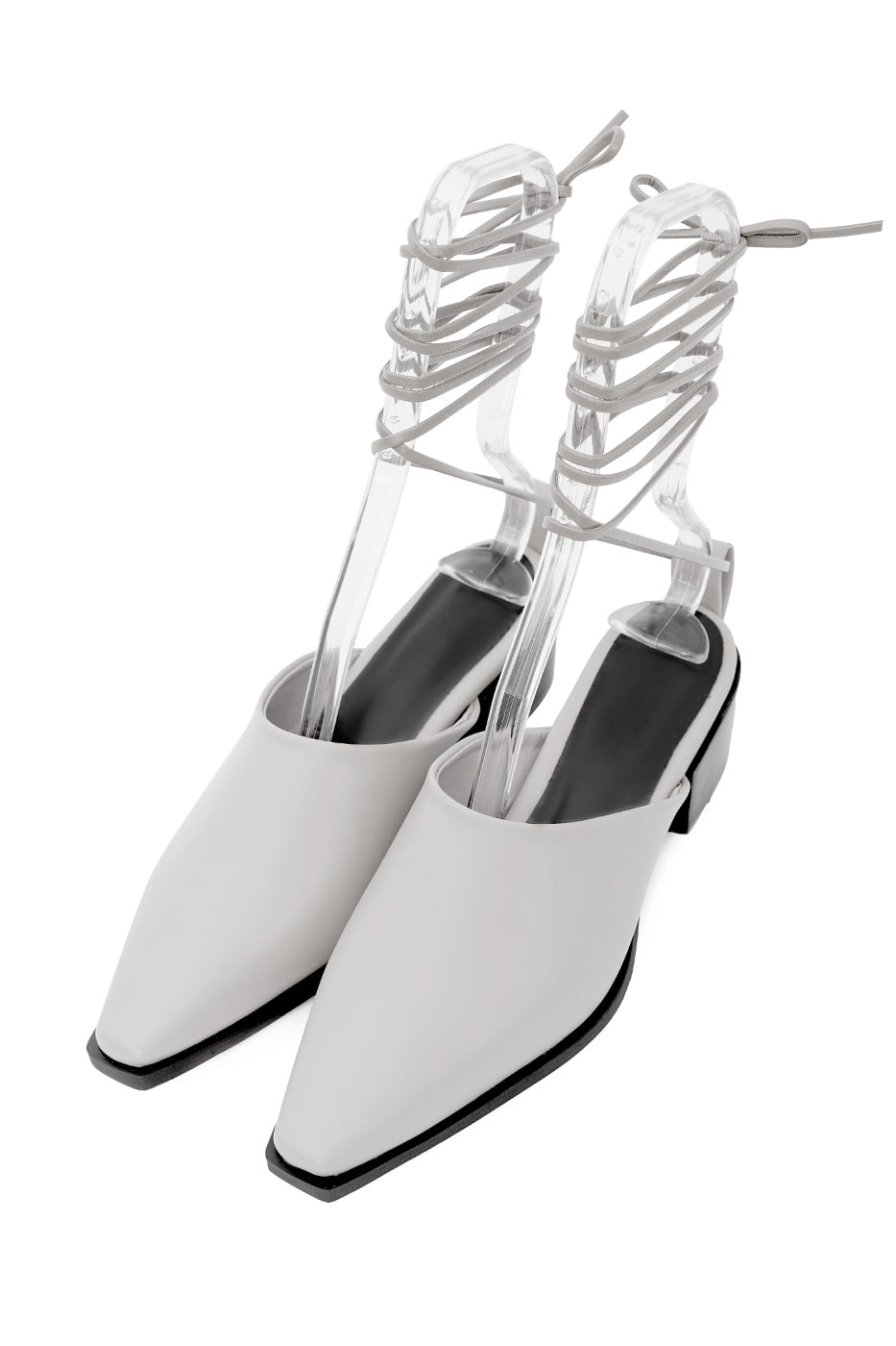 Hardy strap middle heel mules