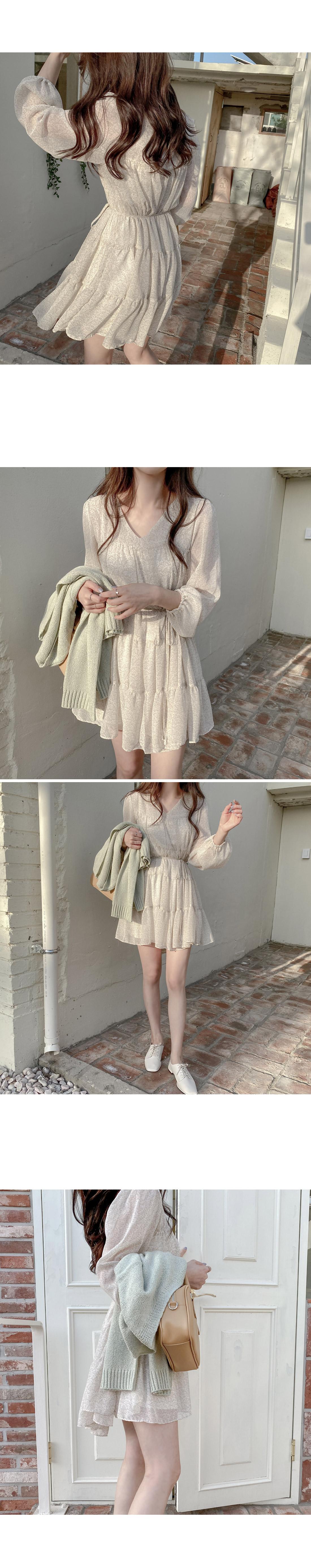 Rosie Cancan Chiffon Mini Dress