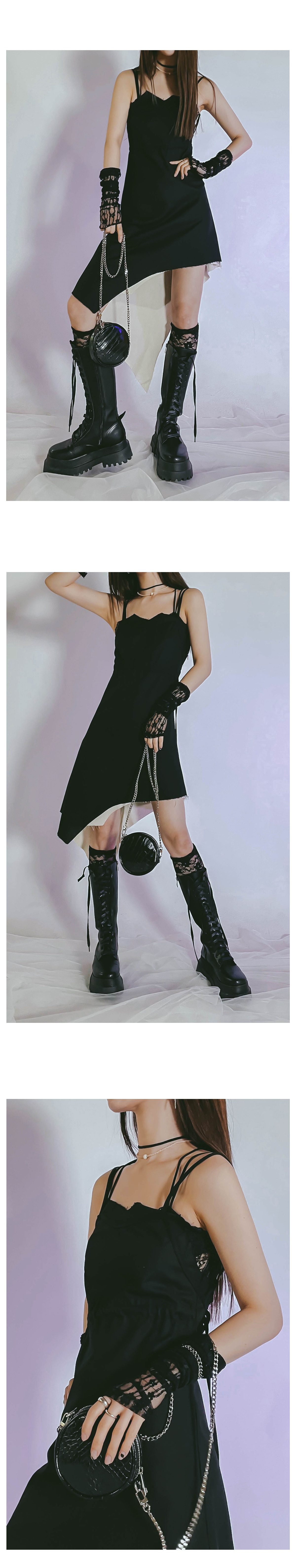 Unfeeling Zero Mini Dress