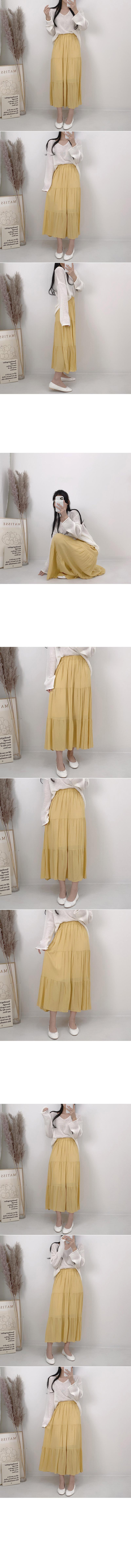 Digital camera cancan long skirt