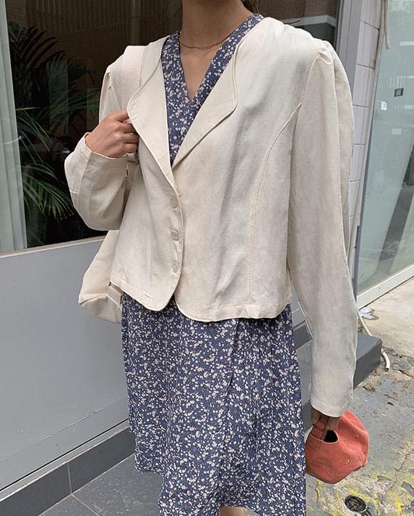 #made some Metia Pintuck Linen Jacket