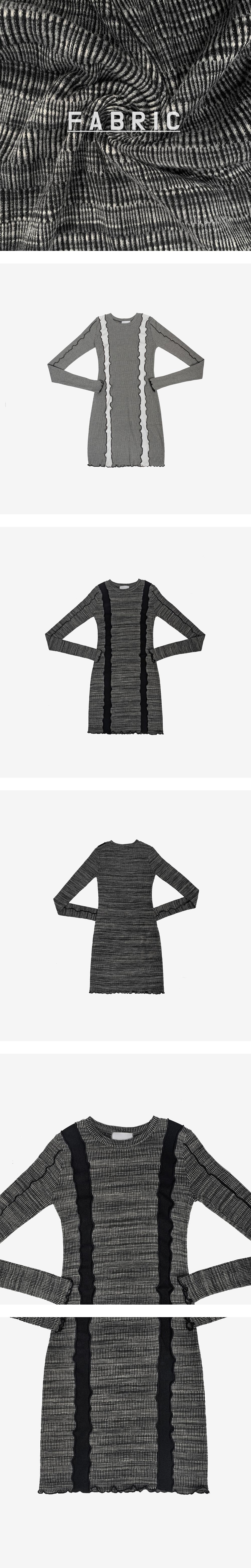 Four Ten Color Line Dress