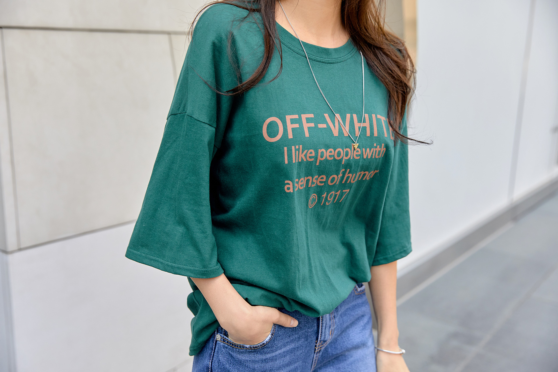 Off Loose-fit Fit Short-sleeved T-shirt #106971