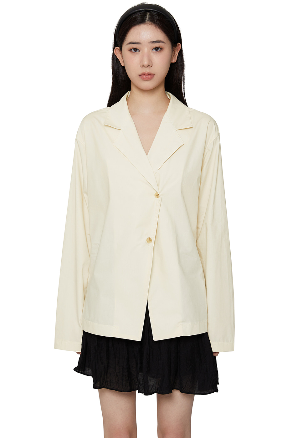 French tailored blouse