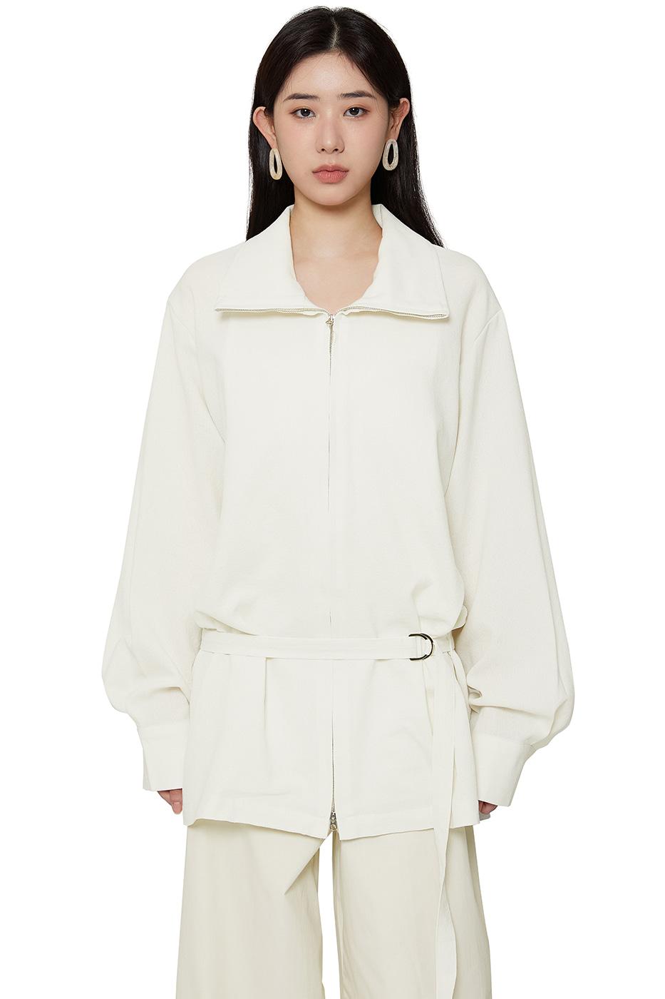 Summer low belted jacket