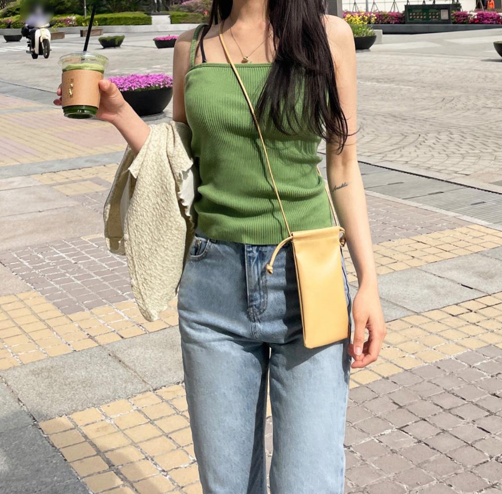 Frenzy minimalist cross-body bag