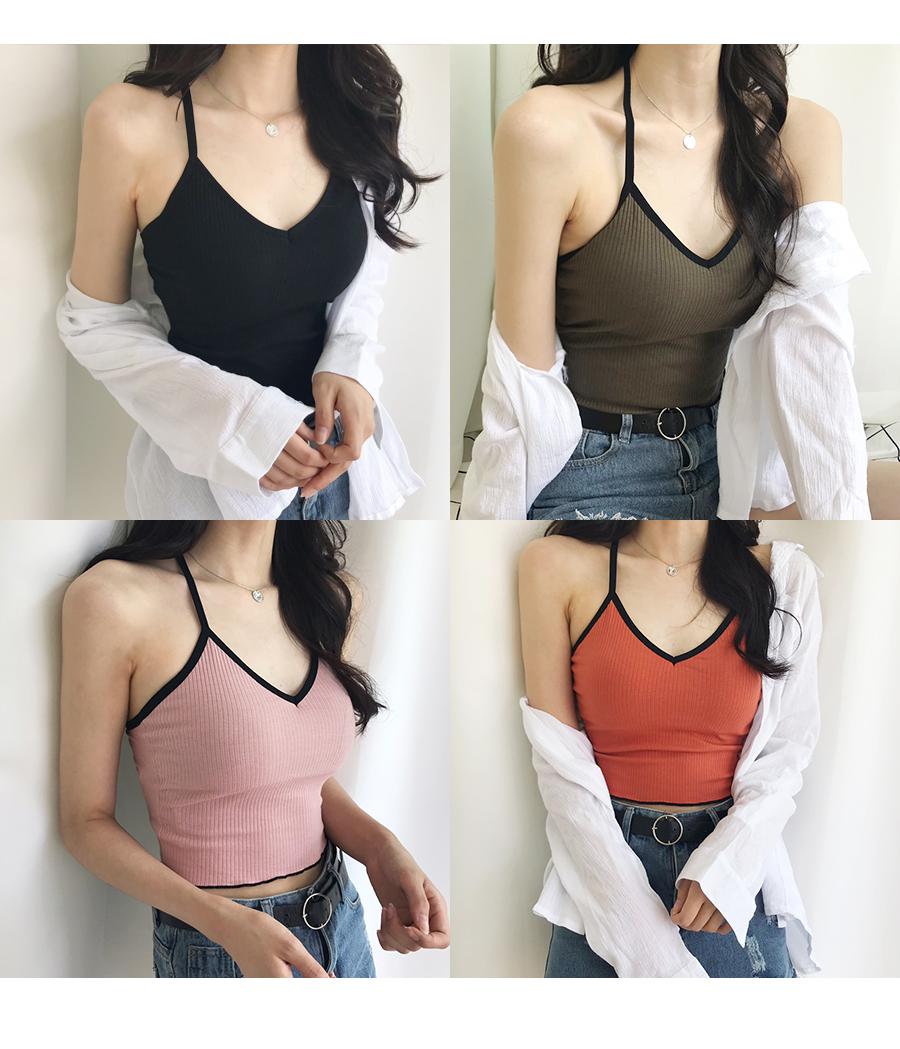 Back strap X-shaped strap Sleeveless