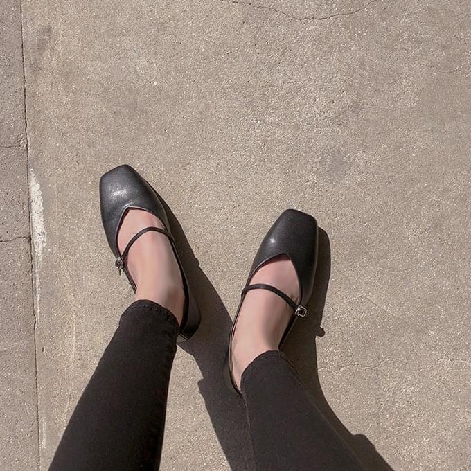 Mary U Mary Jane flat shoes