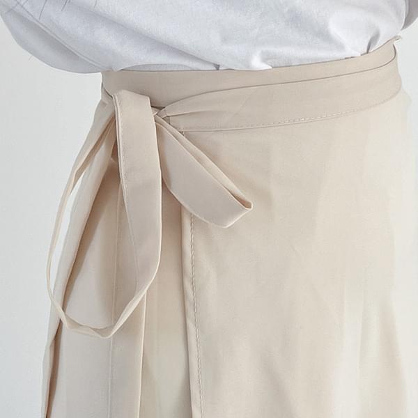 Ria strap wrap skirt