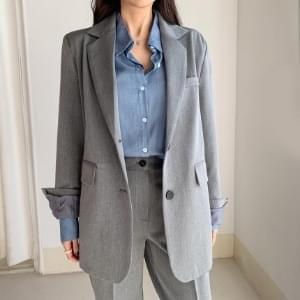 Kanji Overslit Jacket