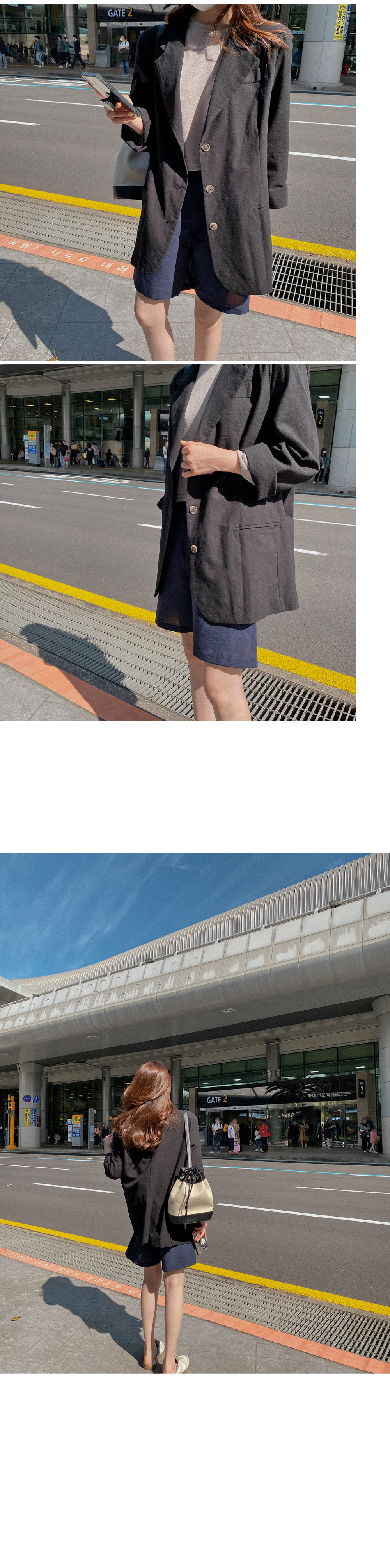 Secro Linen Crop T-shirt-Linen90
