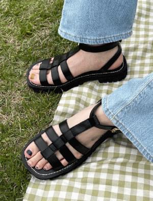 Mali Unique Strap Sandals