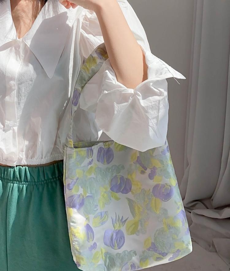 Flower easy shoulder bag