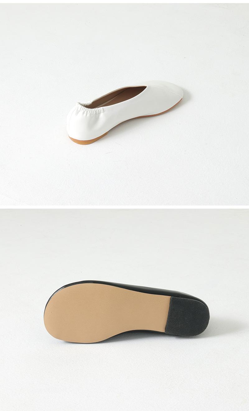Mild Round Flat Shoes