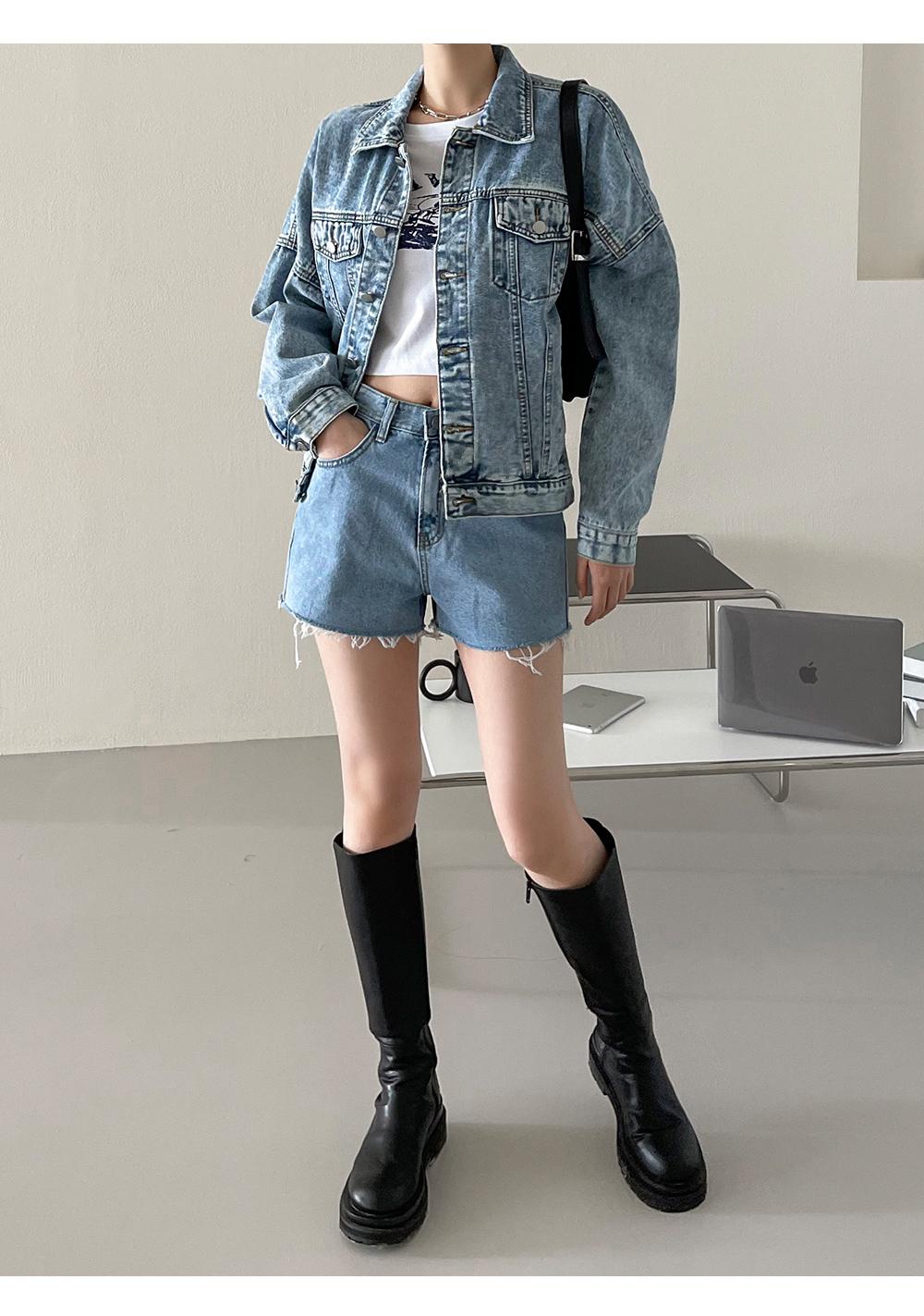 Decure overfit denim jacket