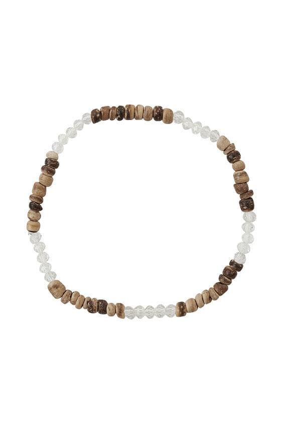 Tear glass bracelet