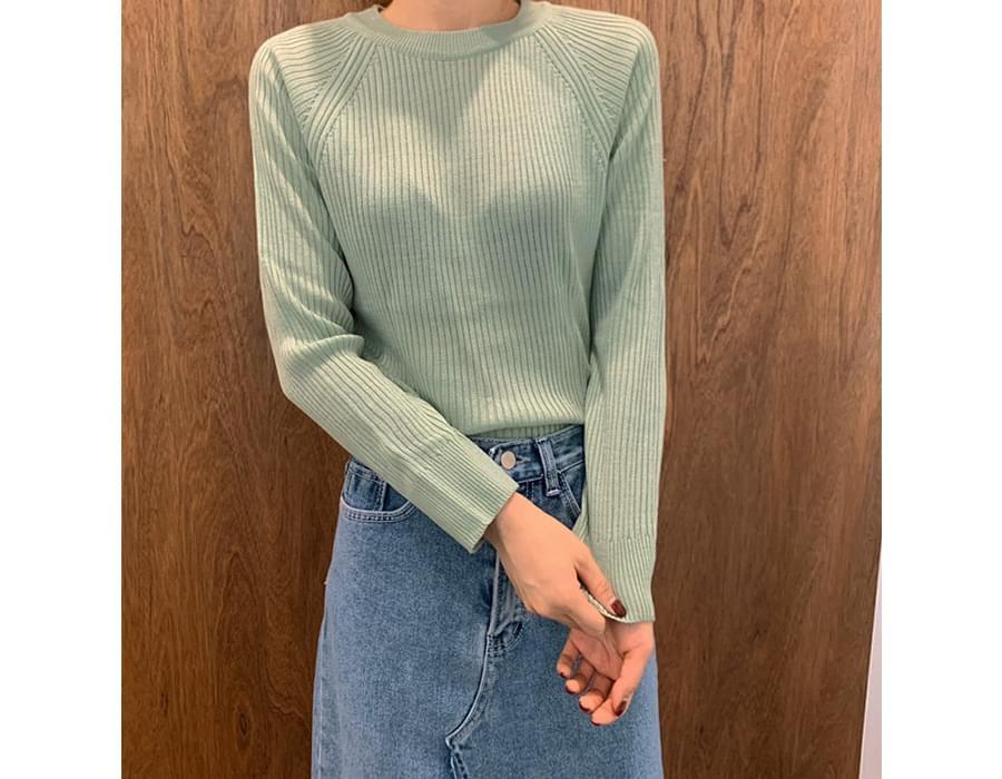 F golgi round knit (size : free)