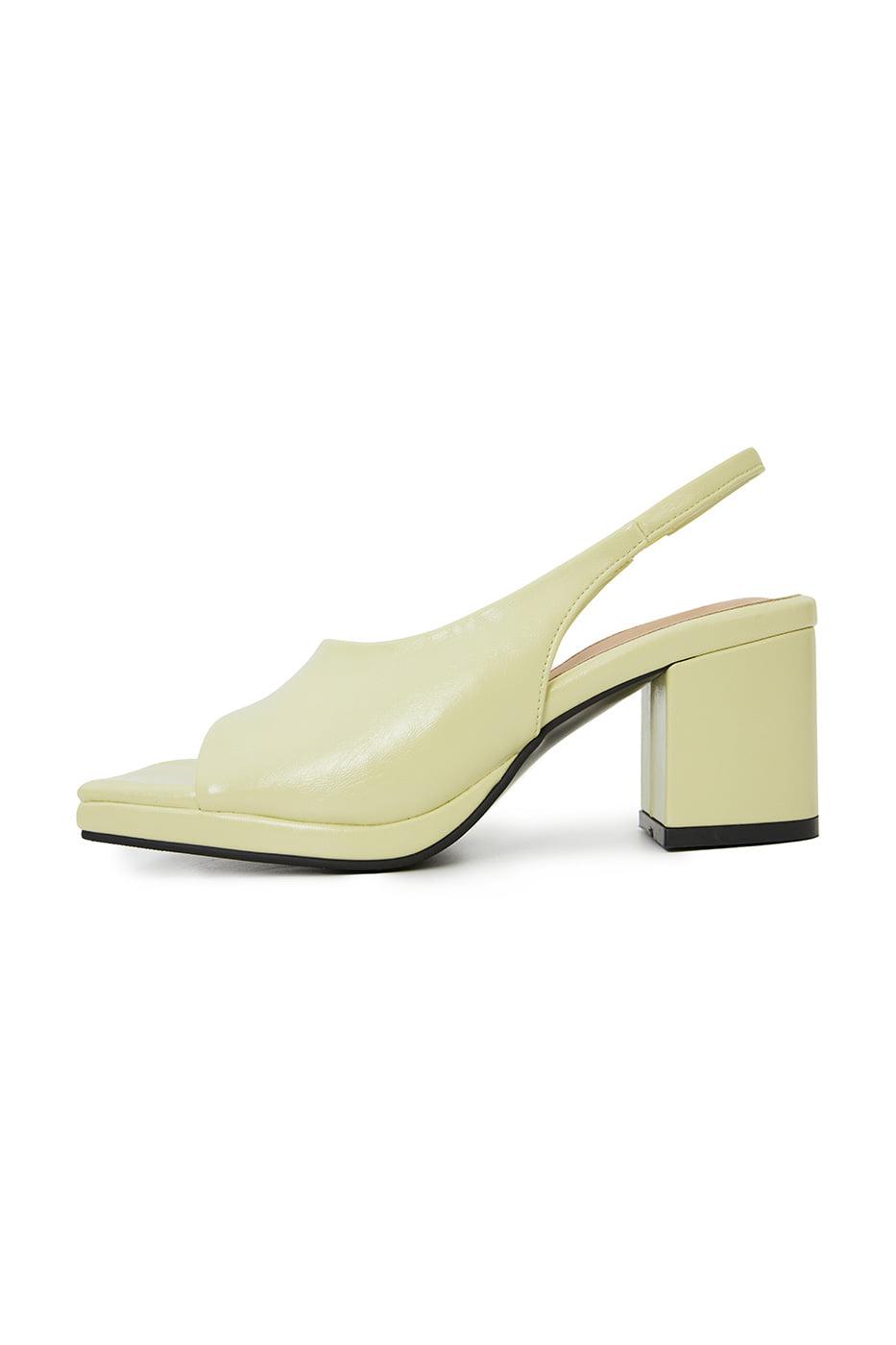 Sage middle heel sandals
