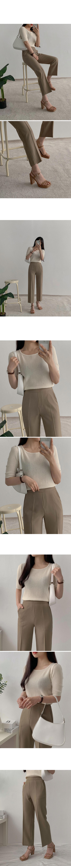 縫線點綴磁釦仿皮肩背包