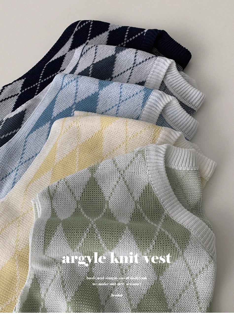 Minoagyle Knitwear Vest