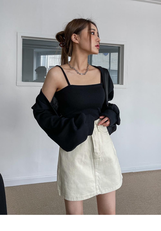 Juli Knitwear Bolero Cardigan Sleeveless SET