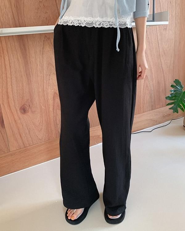 Benin long cotton trousers