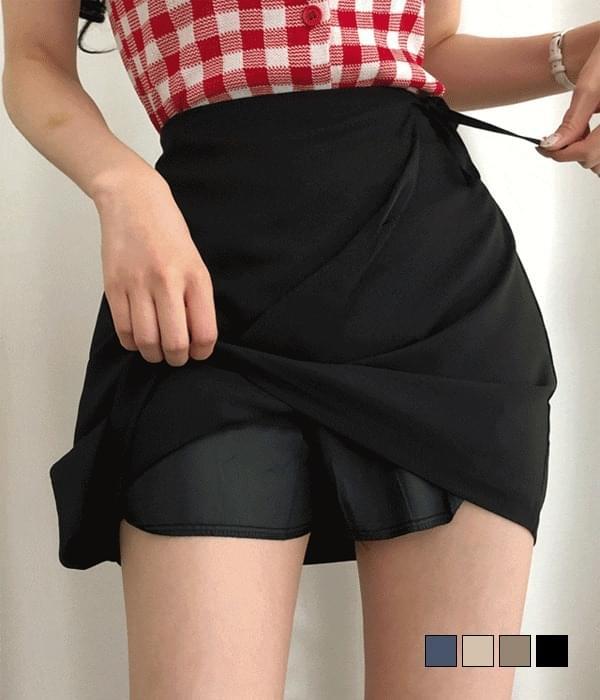 Eri wrap skirt skirt