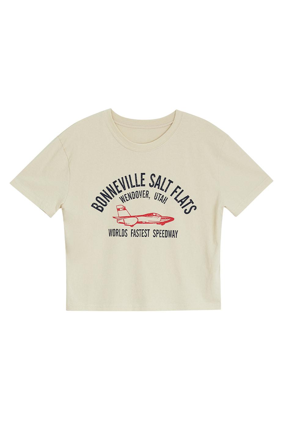Speed print T-shirt