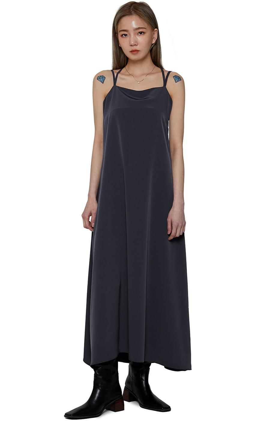 Athena sleeveless long dress