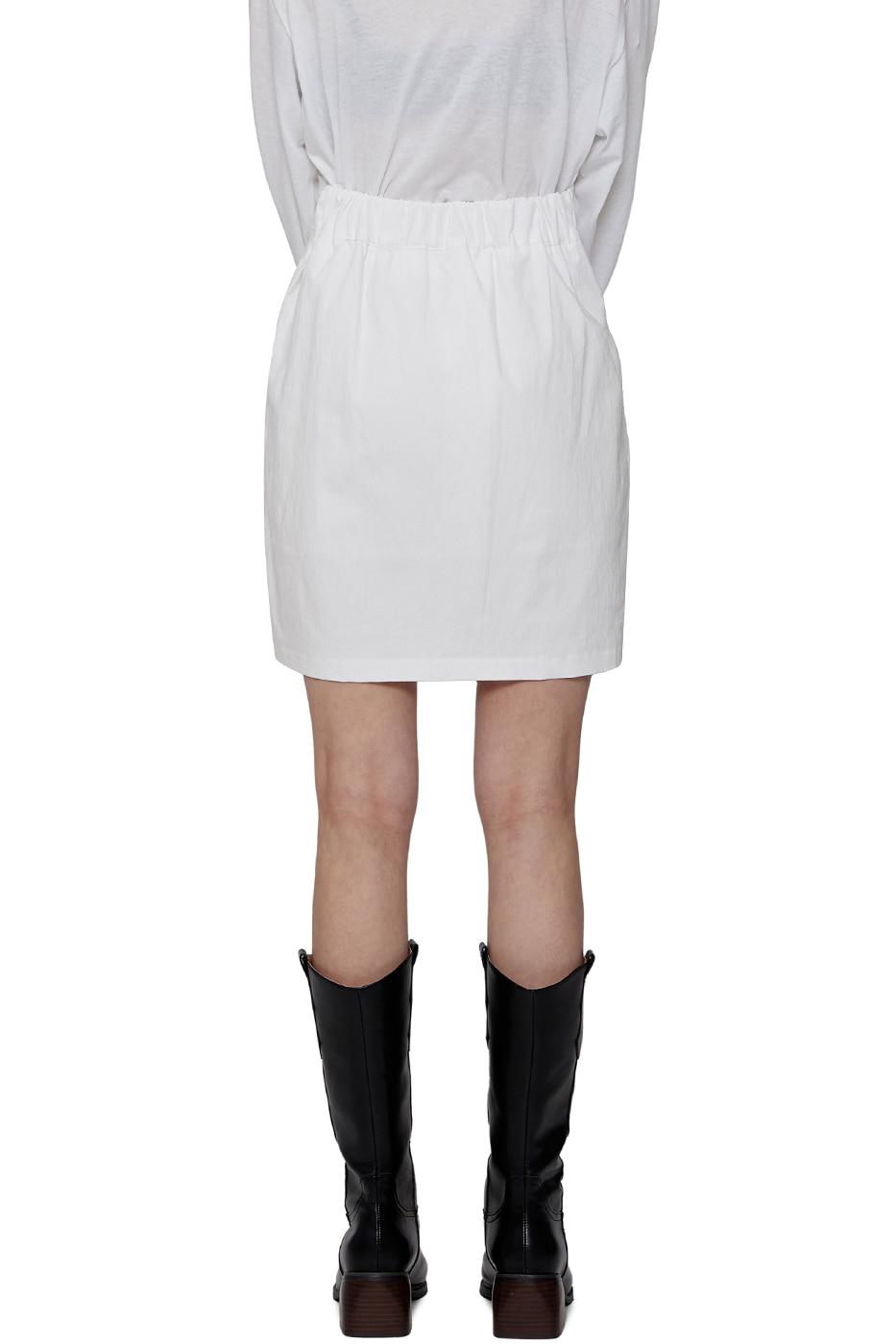 L Unfooted short skirt