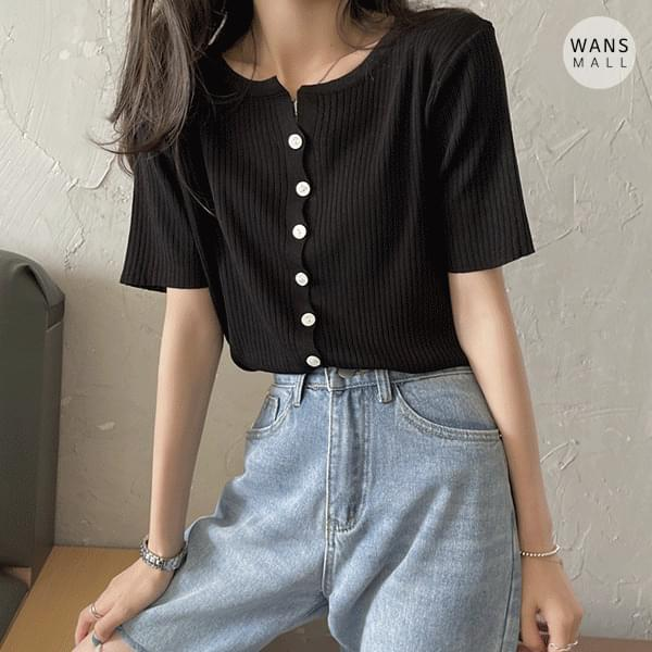 kn4504 Ravy Short Sleeve Knitwear Top (Delayed delivery)